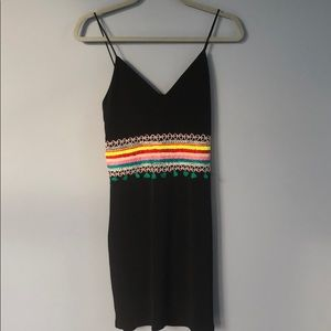 Alice+Olivia black sleeveless dress